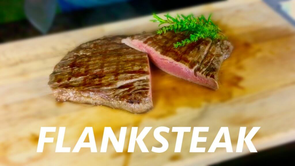 Flanksteak nach Florentiner Art